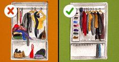 Isto éoque você precisa para organizar oseu guarda-roupa