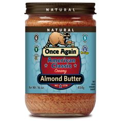 Once Again American Classic Creamy Almond Butter nominated for best almond butter! Vote for it here: http://www.vegetariantimes.com/2014foodieawards/