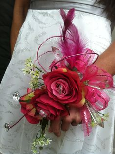 Another prom idea I saw at Trees n Trends made with a bracelet