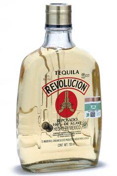 revolucion tequila reposado bottle
