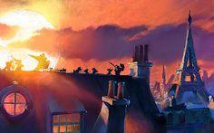 Pixar Wallpaper's Collection: The Art of Ratatouille #2