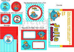 Kit Festa Digital Tema Galinha Pintadinha Encomendas e Orçamentos: ateliebexiga@gmail.com
