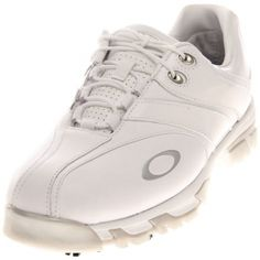 SALE - Oakley Superdrive Tour Golf Cleats Mens White Synthetic - Was $160.00 - SAVE $10.00. BUY Now - ONLY $149.99