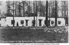 scoot county tn. history | The Glass House Restaurant, Helenwood, Scott Co, TN, circa 1943