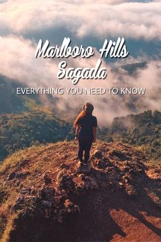 Heading to Sagada for the sea of clouds? You might want to consider Marlboro Hills. Here's a travel guide complete with budge and everything else you need to know Diy On A Budget, Budget Travel, Travel Guide, Sagada, Travel Around, Heavenly, Need To Know, Everything, Clouds