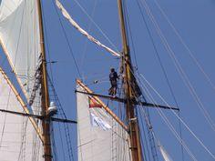 Curs avançat de fotografia de mar MMB. Regata de vaixells clàssics Puig. Barcelona 2013. Foto: Pau Comas Sailing Ships, Boat, Photography Courses, Scouts, Dinghy, Boats, Sailboat, Tall Ships, Ship
