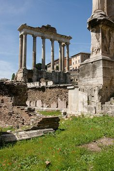 Roman Forum, Temple of Saturn