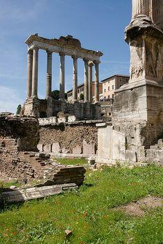 Roman Forum, Temple of Saturn