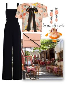 """Brunch Style"" by easy-dressing ❤ liked on Polyvore featuring Lydia Courteille, Zimmermann, Oscar de la Renta, Schutz and Marni"