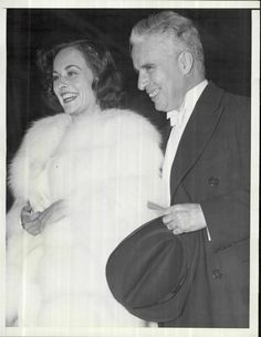 Charlie Chaplin and Paulette Goddard at the Premiere of Modern Times (1936), Grauman's Chinese Theater, February 12th, 1936.