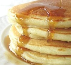 Simply Perfect Pancakes via @kingarthurflour