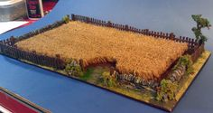 You know how those professional guys have these awesome wargaming terrain pieces on their table? Well, here is how they do it: today, a field!