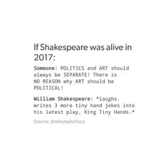 tumblr textpost funny lol relatable meme hilarious memes dank memes puns lgbt+ lgbt lgbtq random crap shakespearean shakespeare