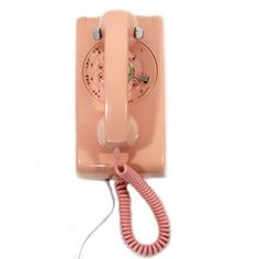 Pink Wall Phone, $96, now featured on Fab.