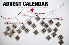 Simple and Fun Advent Calendar full of 24 ideas for family activities and service projects.