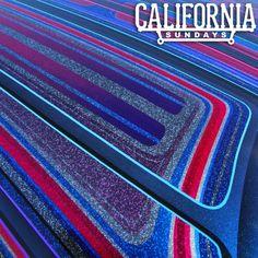 Colors.. #flake #paint #patterns #lowrider #californiasundays School Painting, Car Painting, Body Painting, Painted Trunk, Roof Paint, Paint Patterns, Candy Paint, Lowrider Art, Pinstriping