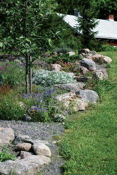 Garden Inspiration, Garden Ideas, Forest Garden, Dream Garden, Recycled Materials, Natural Stones, Stepping Stones, Recycling, Yard