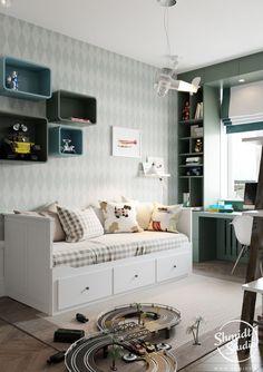 Квартира со скандинавским оформлением | Архидея