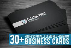 25+ Creative Corporate Business Cards Design