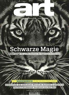 Diese Augen sind wahrlich magisch *-* Gefunden in: Art das kunstmagazin, Nr. 8/2014