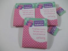 lembrancinha para chá de fraldas tissue paper Tea Tag, Tea Party Favors, Make And Sell, Shower Baby, Ideas, Crocheting