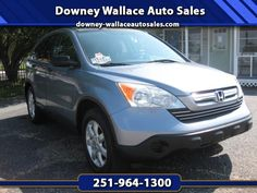 Used 2007 Honda CR-V EX 2WD AT for Sale in Loxley AL 36551 Downey Wallace Auto Sales