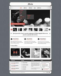 Novica PSD template by cssmania on @creativemarket
