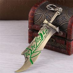 Buy LEAGUE OF LEGENDS Riven The Exile Sword Keychain at Pica Collection for only $ 11.22