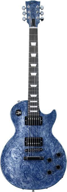 Gibson Les Paul Studio Silver Blue Swirl