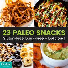 Paleo snacks - Dr. Axe