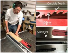 Learn Table Saw Safety and Guidelines from The Sawdust Maker, Nick.