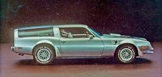 OMG Pontiac Trans Am Kammback (Type K), 1977---I have never seen this version of this car till now....