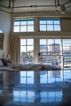 Airbnb Finger Wharf Loft at Woolloomooloo, #Sydney, #Australia