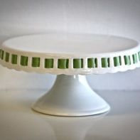Sweet Saucy Supply--several very pretty glass/ceramic cake stands