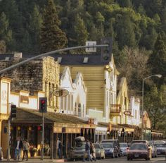 Calistoga, California - we stayed in this wine country spa town on our honeymoon. Amazing!