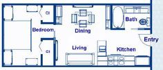12 x 30' floor plans - Google Search