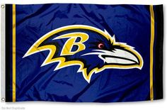 Baltimore Ravens Team Logo Large banner Indoor Outdoor High Quality Football Flag 3X5 Custom flag