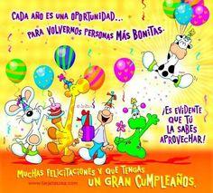 New Happy Birthday For Him In Spanish Ideas Spanish Birthday Wishes, Happy Birthday Wishes For Him, Birthday Wishes For Boyfriend, Happy Birthday Video, Happy Birthday Flower, Happy Birthday Images, Happy Birthday Banners, Birthday Greetings, First Birthday Parties