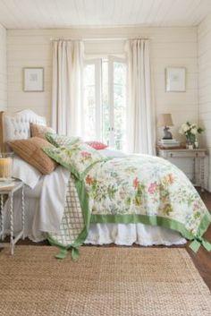 Rhododendron Quilt - Floral Quilt, Watercolor Quilt | Soft Surroundings