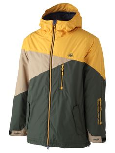 Surfanic Yellow Okemo Surftex Mens Ski Jacket <--might be a good 'spring' jacket for March.