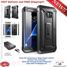 Samsung Galaxy S7 Edge Full-body Rugged Holster Case WITHOUT Screen Protector US 752454310579 | eBay