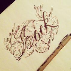 Hand Type Vol. 6 by Raul Alejandro, via Behance