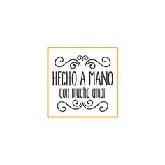hecho-21-a-mano_32x32 Positive Phrases, Scrapbook Albums, Scrapbooking, Logo Sticker, Handmade Soaps, Business Card Design, Stencils, Diy And Crafts, Banner