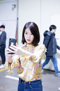 Discover recipes, home ideas, style inspiration and other ideas to try. Kpop Short Hair, Korean Short Hair, Short Hair Cuts, Short Hair Styles, Korean Fashion Minimal, Korean Fashion Kpop, Korean Fashion Summer, Iu Fashion, Fashion Hair
