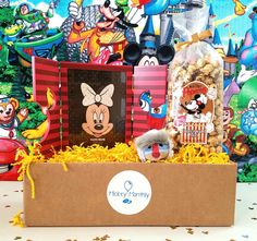 Mickey Monthly Box - Disney World Souvenirs