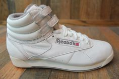 Classic Hitop Reebok Shoes Black And Purple