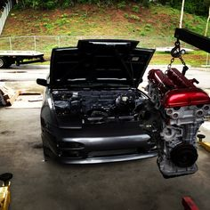 Nissan S13 in the making
