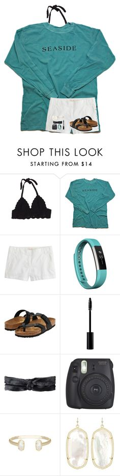 """RTD"" by evedriggers ❤ liked on Polyvore featuring J.Crew, Fitbit, Birkenstock, Christian Dior, prAna and Kendra Scott"