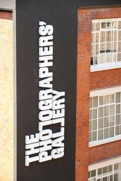 Creative Review - Mawdsley shoots The Photographers' Gallery   North design