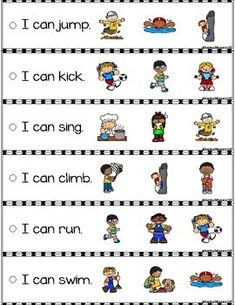 September Reading Fluency and Comprehension Sentence Strip : September Reading Fluency and Comprehension Sentence Strip English Grammar For Kids, Learning English For Kids, English Phonics, Teaching English Grammar, English Worksheets For Kids, English Lessons For Kids, Kids English, English Reading, English Activities